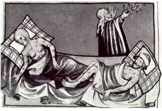 The Black Death and its symptoms