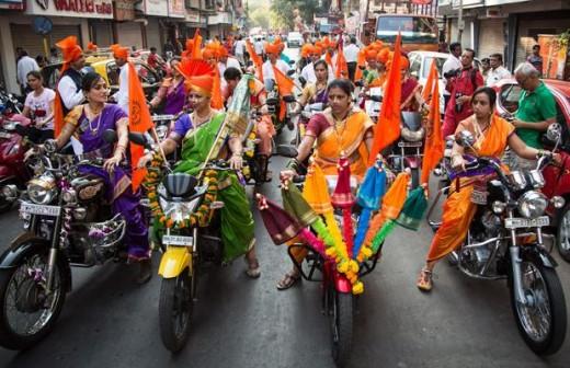 Gudi Padwa, The Hindu new year in Maharastra