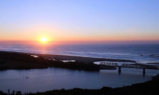 Sunrise at Illovo Beach, KwaZulu-Natal