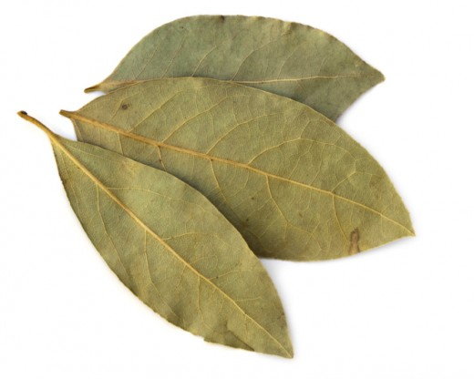 Bay leaves are the most common item used to burn.