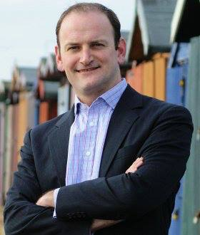 Douglas Carswell and beach huts