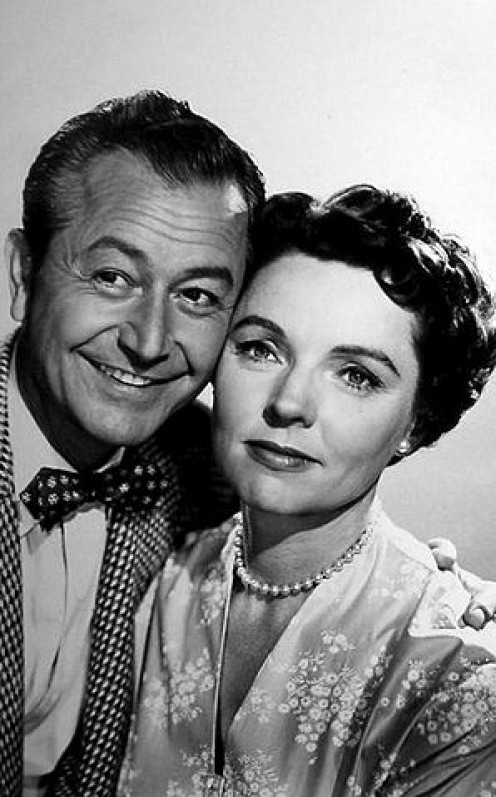 Robert Young and  Jane Wyatt of Father Knows Best
