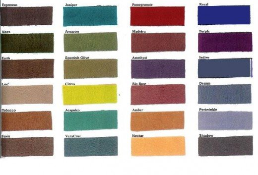 FALL COLOR PALETTE OPTIONS TO CONSIDER