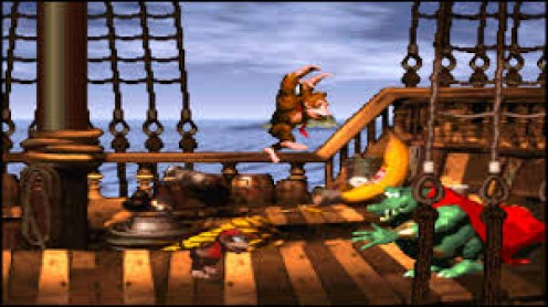 Donkey Kong Country was released in 1994 on the Super NES and for the time the game had advanced graphics especially for a Donkey Kong Country.