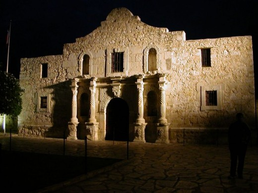 united states ghosts the alamo
