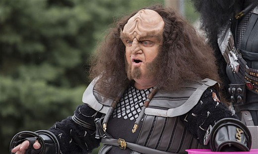 Some of Shakespeare's works have been translated into the fictional language of Star Trek's Klingons.