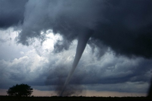 U.S. tornado extreme weather events.