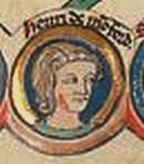 Henry de Montfort. A 13th-century image