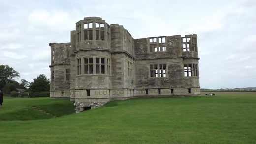 Lyveden New Bield - south side