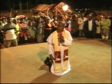 Fr. Camilius Ejike Mbaka, Spiritual Director of Adoration Ministry, Enugu, Nigeria (AMEN).
