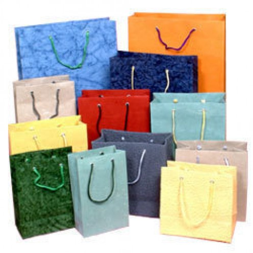 HANDMADE RECYCLED PAPER BAGS