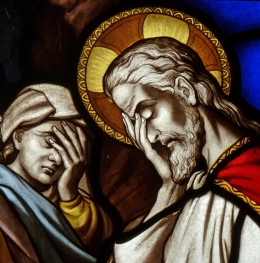 Even Jesus and Mary are 100% done with this crap