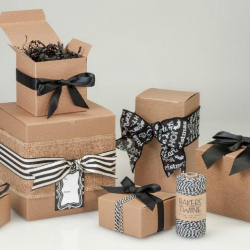 HAND MADE GIFT BOX (KRAFT  GIFT BOX)