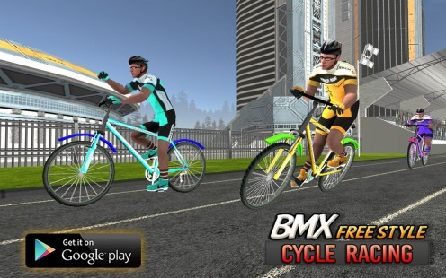 A great BMX cycling Game