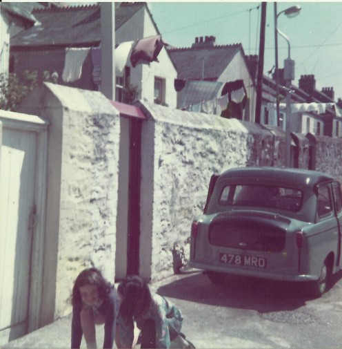 Plymouth back lane early 1970s