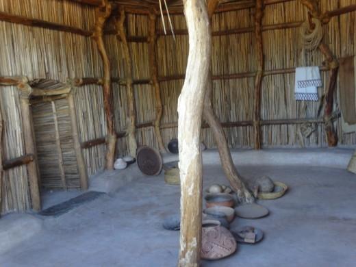 Interior of a Hohokam Pithouse
