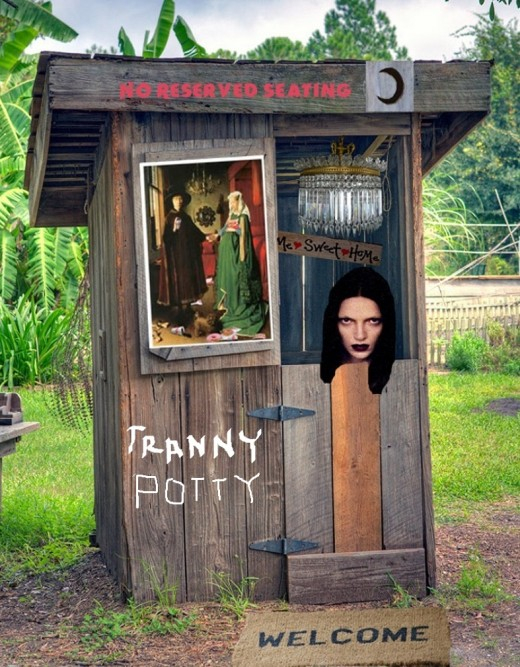 Transgender outhouse