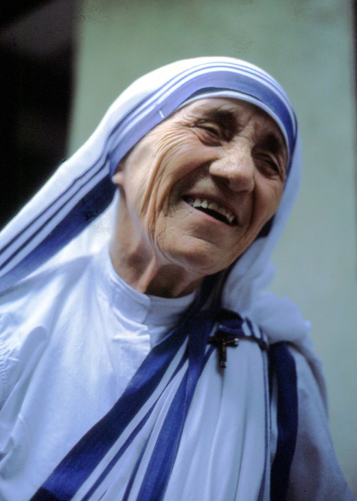 Mother Teresa — 'Love begins by taking care of the closest ones - the ones at home.