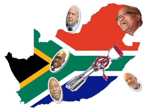 Cabinet reshuffle 2017, South Africa