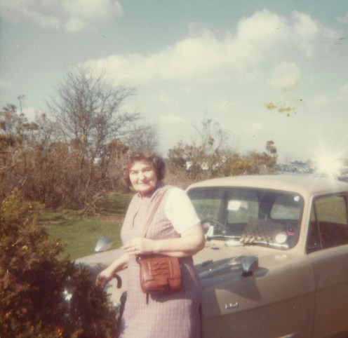 My mum enjoyed many days out in the Reliant Robin