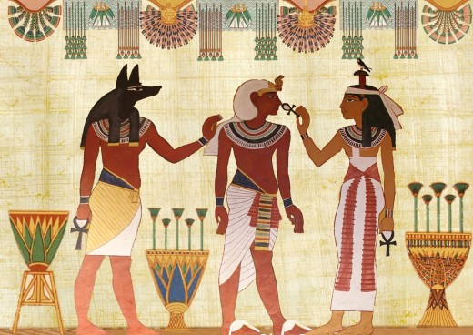 Often people are drawn to the ancient cultures in which they once lived.