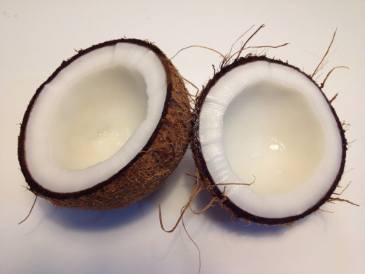 All natural coconut oil can help treat your hair and skin.
