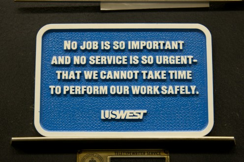 No job is so important and no service is so urgent that we cannot take time to perform our work safely.