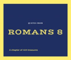 Nuggets From Romans 8-Part 1