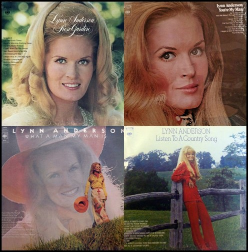 Various classic Lynn Anderson album covers.
