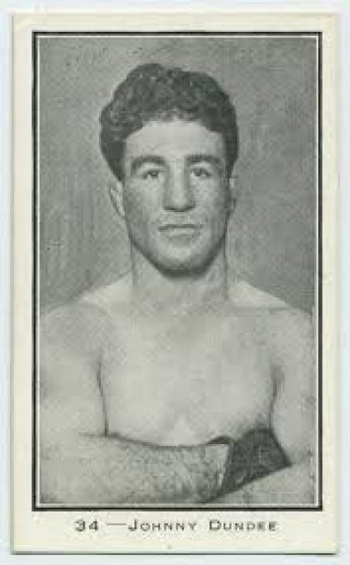 Johnny Dundee is the former featherweight and junior lightweight world champion who fought as a lightweight as well.