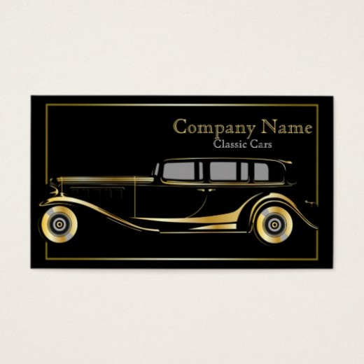 Classic Car Business Cards