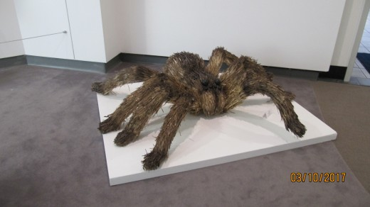 Tarantula Sculpture - All School Exhibition - Springfield Art Museum - Springfield, MO