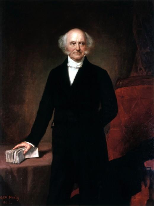 Martin Van Buren's official White House portrait