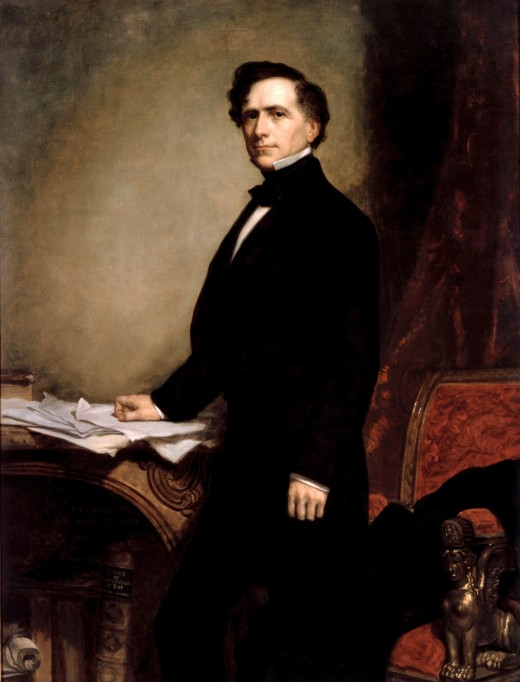 Franklin Pearce's official White House portrait