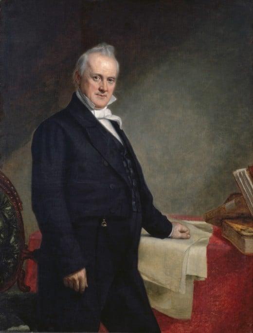 James Buchanan's official White House portrait