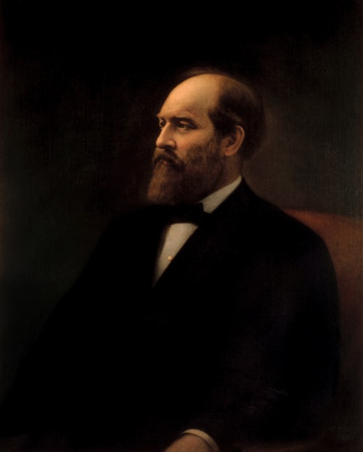 James Garfield's official White House portrait