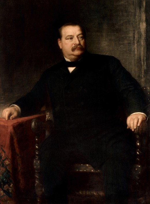 Grover Cleveland's official White House portrait