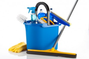 Present-day Window Cleaning Tools