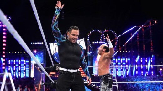 Matt and Jeff Hardy return at WM33. Photo:WWE