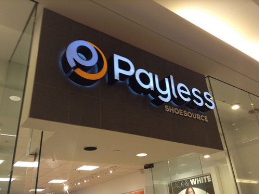 A Payless Store.