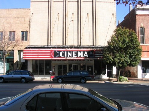 Cinema cafe downtown Urbana, IL.