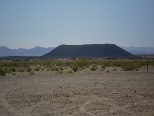 Amboy Crater as seen from US 66.