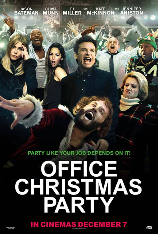 Office Christmas Party theatrical poster