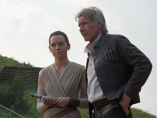 Han and Rey.