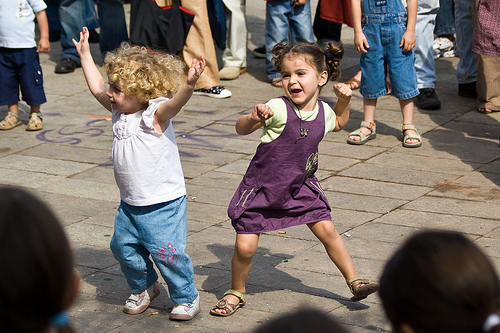 Dancing - fun things to do with your toddler