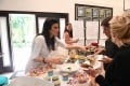 Health Educator Raw Food Party at Hippocrates Health Institute