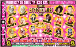CMLL Reyes del Aire 2017!