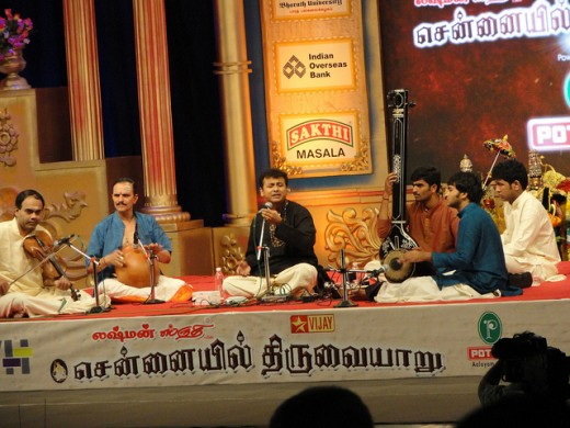 Carnatic music concert by Unnikrishnan