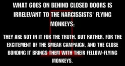 The Narcissist's Abusive Flying Monkeys (Poem)