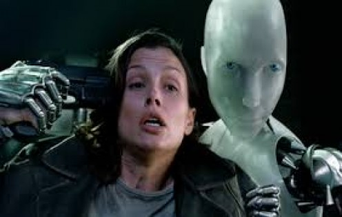 I, Robot stars Will Smith, Bruce Greenwood and Bridget Moynahan. Will Smith plays as a police detective.